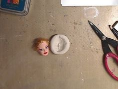 Best 12 How to make a doll face mold Doll Head, Doll Face, Diy Clay, Clay Crafts, Art Doll Tutorial, Cold Porcelain, Porcelain Doll, Painted Porcelain, Face Mold