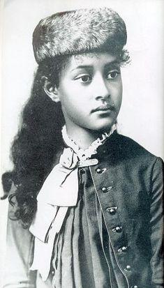 Princess Kaiulani of Hawaii at age 11