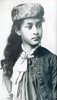 Princess Kaiulani of Hawaii at age 11