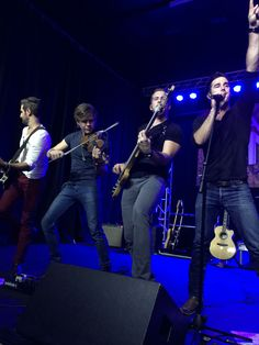 Backroad Anthem's Josh Bryant, Eric Dysart, Brandon Robold and Craig Strickland. These guys know how to ROCK