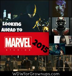 Movies coming from Marvel in 2015!