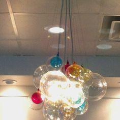 Cool lamp at a Yogurt Store...
