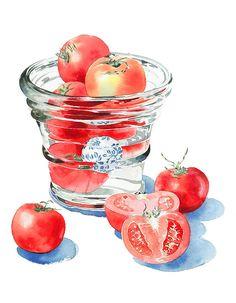 Овощные натюрморты Ayako Tsuge.... Обсуждение на LiveInternet - Российский Сервис Онлайн-Дневников