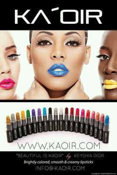 KEYSHIA DIOR | KA'IOR COSMETICS LIPSTICK ADVERTISEMENT 2011