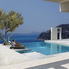 French Riviera House project by architects Adam & Helena Michel _
