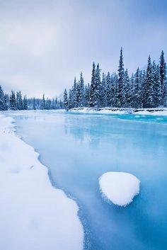 Winter - Wheaton River [Yukon - Canada] -- More on my website : Nature & Wildlife photography Wheaton River Alaska, Landscape Photos, Landscape Photography, Winter Photography, Places To Travel, Places To See, Beautiful World, Beautiful Places, Yukon Canada