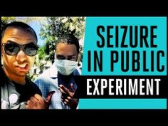 """""""Seizure In Public Experiment"""" by Molo Nation  --So, what would you do if you saw a sick person have a seizure in public?"""