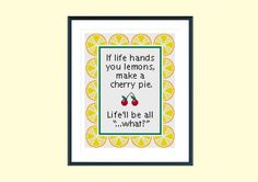 Cross stitch pattern funny cross stitch pattern by SpruceXstitch