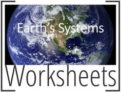 This product is a series of Worksheets about Earth's Systems:1.Interpretation + Key;2.Connections + Key;3.Four Spheres + Key;4.Graphic Organizer + Key;5.System Features + Key;6.Deforestation + Key;7.Water Cycle + Key;8.Interactions + Key;9.Geosphere + Key;10.Rock Cycle + Key;11.Atmosphere + Key;12.Layers of the Atmosphere 1 and 2;13.Bottle biosphere + Student Sheet + Teacher Guide;14.Hydrosphere + Key;15.Cell + Key.These worksheets can be used together with the Earth's Systems…