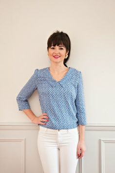 330 Best Sewing Patterns Tops And Blouses Images In 2019 Sewing