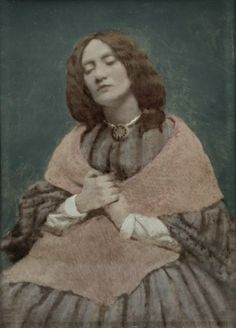Lizzie Siddal-(25 July 1829 – 11 February 1862) was an English artists' model, poet and artist. She was painted and drawn extensively by artists of the Pre-Raphaelite Brotherhood, including Walter Deverell, William Holman Hunt, John Everett Millais (including his notable 1852 painting Ophelia) and her husband, Dante Gabriel Rossetti. She featured prominently in Rossetti's early paintings of women.