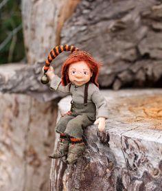 Julia Moiseenko HANDMADE: Новый гном / New gnome
