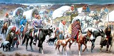 The Trail of Tears was a route the United States government forced several Native American tribes to migrate to reservations west of the Mississippi River in the 1820s, 1830s, and 1840s.