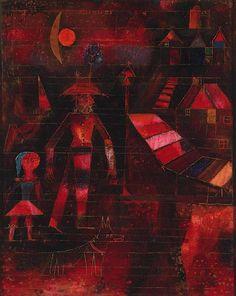 Paul Klee - Village Carnival - 1926