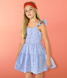 Cute Little Girl Dresses, Dresses Kids Girl, Cute Girl Outfits, Cute Dresses, Preteen Girls Fashion, Kids Fashion, Moda Junior, Teen Skirts, Boys Summer Outfits