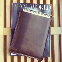 Horween Leather Steno Pad Sleeve www.440gentlemansupply.com