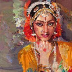 Zakir Painting - Classical Dance Art 1 by Maryam Mughal
