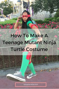 Dress up as april o neil or the teenage mutant ninja turtles easy directions on how to make a teenage mutant ninja turtle costume diy solutioingenieria Gallery