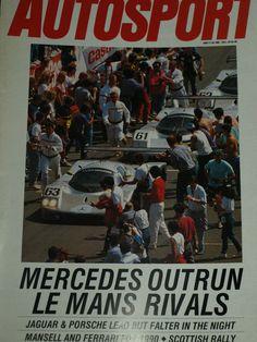 MERCEDES C9 WIN LE MANS 24 HOURS HEURES 1989 JOCHEN MASS MANUEL REUTER DICKENS in Sports Memorabilia, Motor Sport Memorabilia, Le Mans | eBay