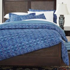 Mattonelle Percale Bedding from Cuddledown