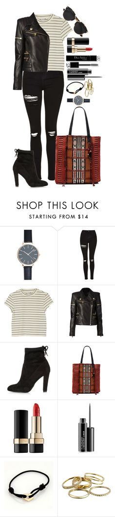 """Untitled #1450"" by fabianarveloc on Polyvore featuring Topshop, Monki, Balmain, River Island, ále by Alessandra, Dolce&Gabbana, MAC Cosmetics, Christian Dior, Cartier and Kendra Scott"