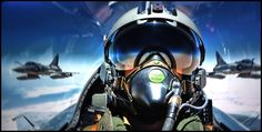 Flying a fighter is a very demanding task, sometimes stressful. the pilot needs to be focused on the mission at hand.