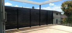 GV Slatscreen Aluminium Pool and Balustrade Glass And Aluminium, Aluminum Fence, Pool Fence, Exterior, Fencing, Outdoor Decor, Garden, Fences, Garten