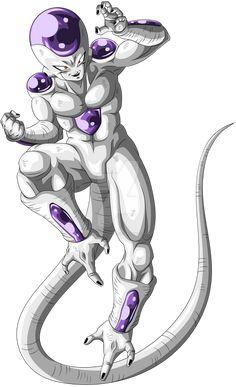 Frieza final form by crysisking2021 on DeviantArt Dbz, Goku, Dragon Ball Z, Heavy Metal, Deviantart, User Profile, Freezer, Cartoons, Universe