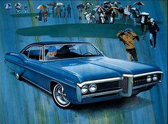 What an illustration! Art Fitzpatrick for Pontiac Ventura, 1968.