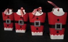 Creations by Patti: 2008 Christmas, Santa Sweets Bag