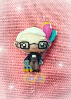 Mr. Fredricksen UP kawaii by Lovi Lovi Creations by LoviLoviCreations.deviantart.com on @deviantART