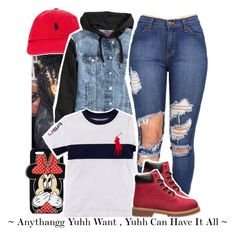 """"""""""" by loyalnene ❤ liked on Polyvore featuring Forever 21, Polo Ralph Lauren, H&M and Timberland"""