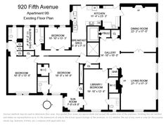 920 5th Avenue #9B, New York, NY 10021: Sales, Floorplans, Property Records | RealtyHop