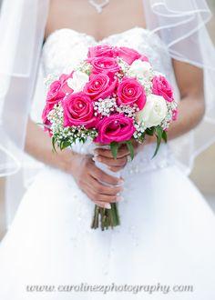 I Love the Boquet & wedding dress shot<3