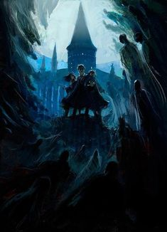 Discover a Collection of 100 Concept Art made for Harry Potter movies, from The Philosopher's Stone to the Deathly Hallows by artists such as Craig Harry Potter Fan Art, Harry Potter World, Fans D'harry Potter, Mundo Harry Potter, James Potter, Harry Potter Universal, Harry Potter Fandom, Harry Potter Dementors, Hogwarts