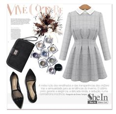 """""""SheIn 10."""" by selmagorath ❤ liked on Polyvore featuring Bobbi Brown Cosmetics and Nicholas Kirkwood"""