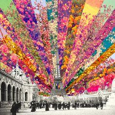 Vintage Paris Art Print by Bianca Green   Society6