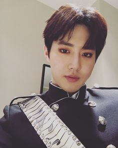 Suho - 170409 Official EXO-L website update Credit: Official EXO-L website.