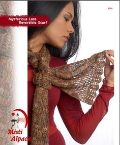 Reversible Scarf in Misti Alpaca Hand Paint Lace - Discover more Patterns by Misti Alpaca at LoveKnitting. The world's largest range of knitting supplies - we stock patterns, yarn, needles and books from all of your favourite brands. Crochet Scarves, Crochet Yarn, Lace Painting, Knitting Supplies, Dress Gloves, Paintbox Yarn, Yarn Brands, Red Heart Yarn, Cross Stitch Embroidery