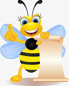 Moving cartoon bee PNG and Clipart Bee Crafts, Crafts For Kids, Paper Crafts, Cartoon Bee, Share Pictures, Animated Gifs, Clip Art, Cute Bee, Bee Theme
