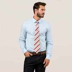 Polish flag neck tie - pattern sample design template diy cyo customize