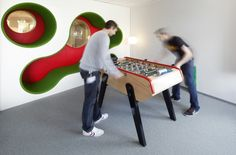 LEGO PMD / Rosan Bosch ...i love the fun shapes in the wall..they'd make a good reading nook