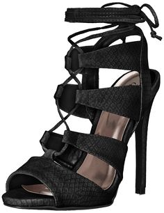 Qupid Women's Glee 191 Dress Sandal ** New and awesome product awaits you, Read it now  : Lace up sandals