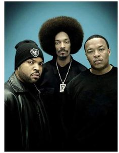 Ice Cube Snoop Dogg and dr. Dre