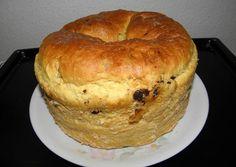 Panettone | Ági Blahunka receptje - Cookpad receptek Hungarian Recipes, Italian Recipes, Italian Foods, Ring Cake, Confectionery, Bagel, Scones, Baked Goods, Muffin