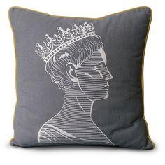 Novogratz Decorative Pillow Collection Royals (Queen)