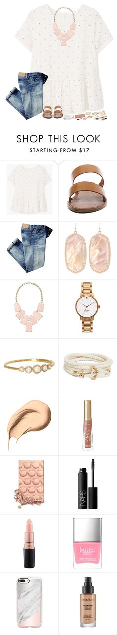 """hw hw hw"" by hopemarlee ❤ liked on Polyvore featuring MANGO, Steve Madden, Kendra Scott, Kate Spade, Brooks Brothers, Bobbi Brown Cosmetics, Too Faced Cosmetics, Urban Decay, NARS Cosmetics and MAC Cosmetics"