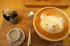 Coffee from 5cijung Cafe in Gangnam