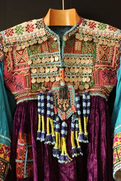 Amazing tribal dress from Afghanistan  by MaeflyTribal on Etsy