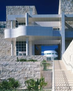 ELLE DECOR's Los Angeles Travel Guide - The Getty Center